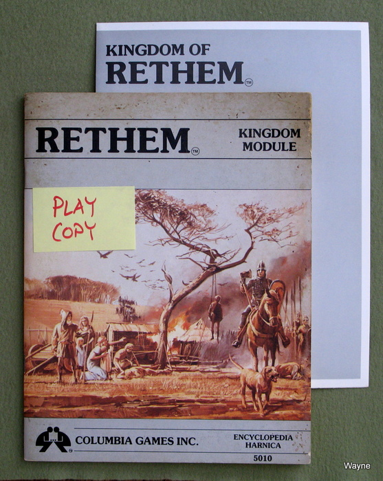 Image for Rethem: Kingdom Module (Harn: Encyclopedia Harnica) - PLAY COPY