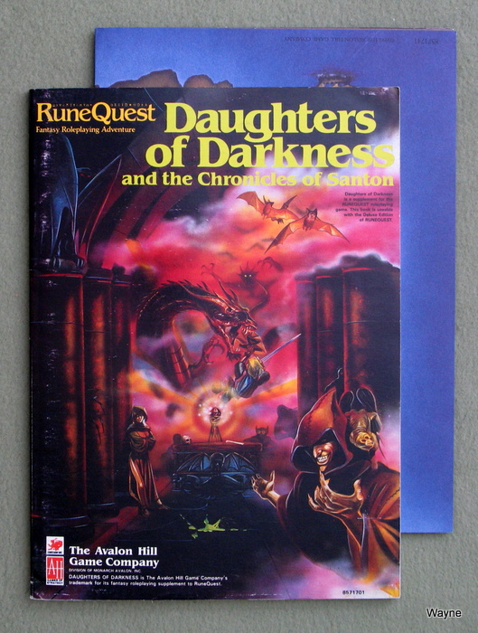 Image for Daughters of Darkness: and the Chronicles of Santon (Runequest)