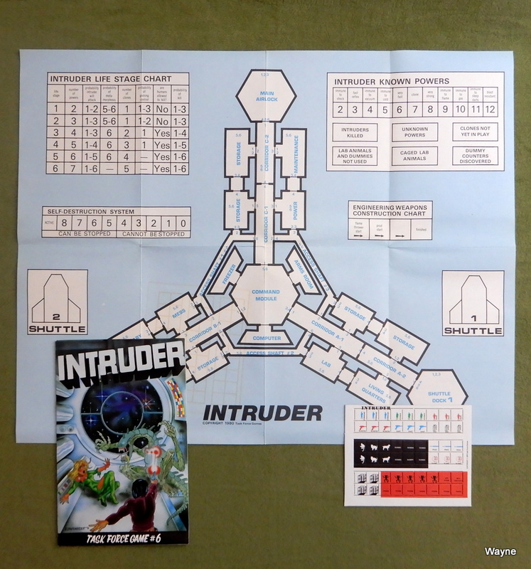 Image for Intruder (Role Playing Game) - Task Force Game #6
