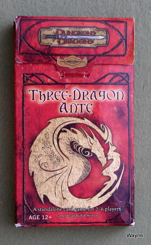 Image for Three Dragon Ante (Dungeon & Dragons)