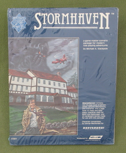 Image for Stormhaven (Mercenaries, Spies & Private Eyes)