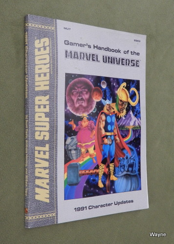 Image for Gamer's Handbook of the Marvel Universe -- 1991 Character Updates (Marvel Super Heroes Accessory MU7)