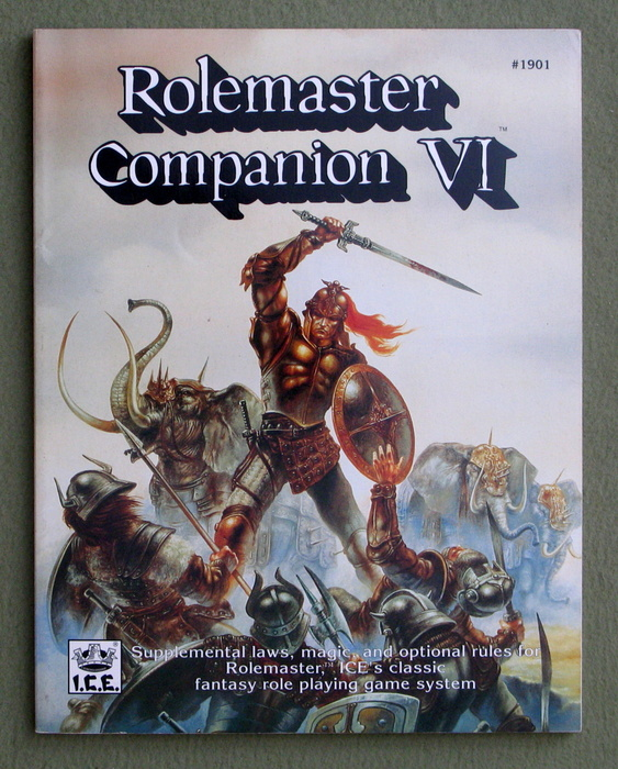 Image for Rolemaster Companion VI