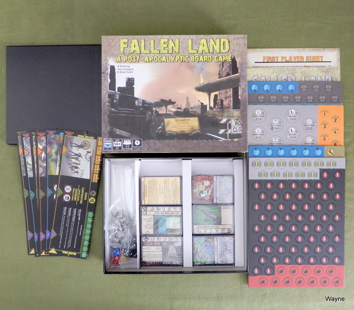 Image for Fallen Land: A Post Apocalyptic Board Game
