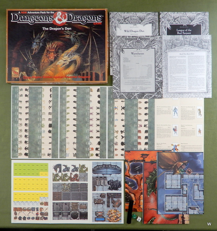 Image for Dragons' Den Adventure Pack (Dungeons and Dragons Game)