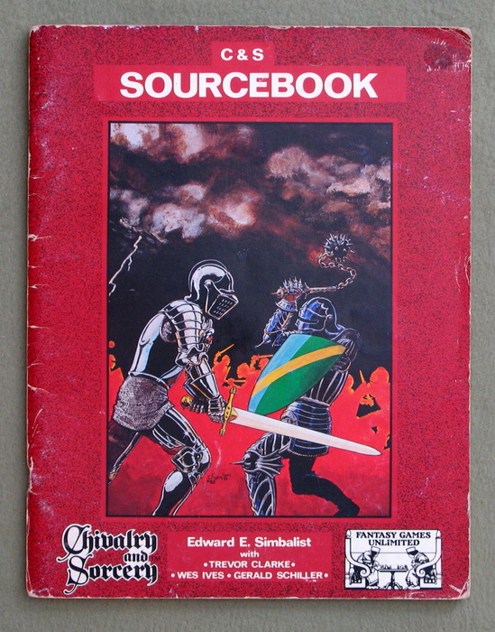 Image for Chivalry & Sorcery Sourcebook (2nd Edition) - PLAY COPY
