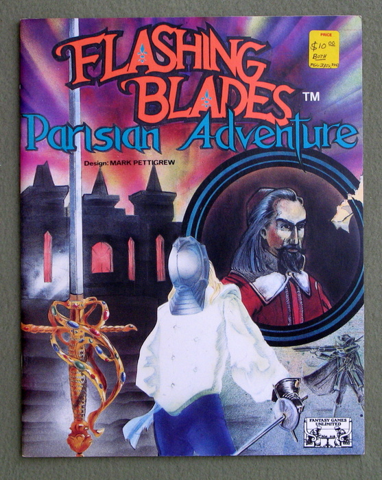Image for Parisian Adventure (Flashing Blades RPG)