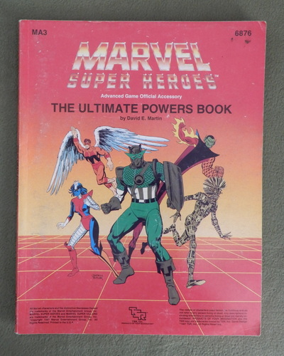 Image for The Ultimate Powers Book (Marvel Super Heroes Accessory MA3)