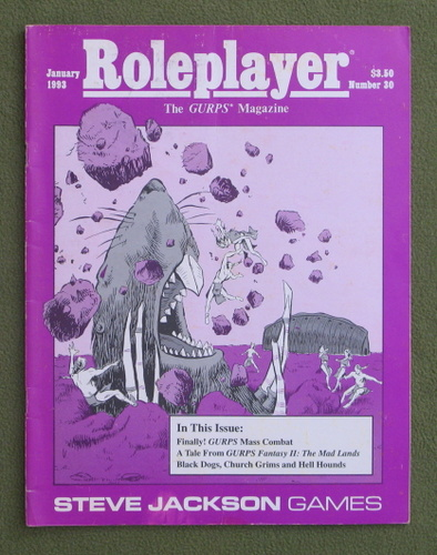 Image for Roleplayer, Number 30: The GURPS Magazine
