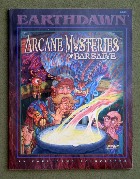 Image for Arcane Mysteries of Barsaive (Earthdawn)