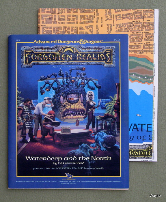 Image for Waterdeep and the North (Advanced Dungeons and Dragons/Forgotten Realms Accessory FR1)