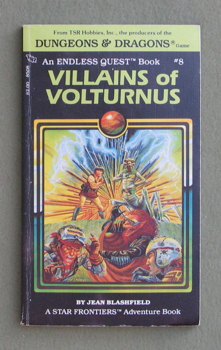 Image for Villains of Volturnus (Endless Quest Book 8: Star Frontiers)