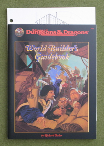 Image for World Builder's Guidebook (Advanced Dungeons & Dragons, 2nd edition)