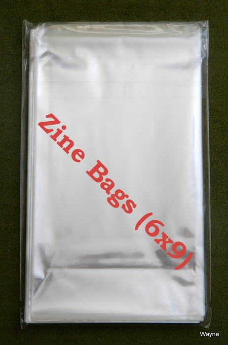 Image for Zine Bags (6x9) - PACK OF 50