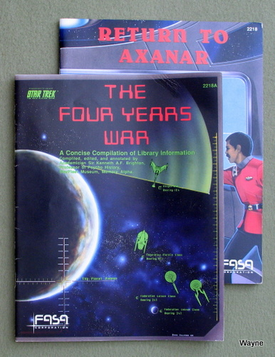 Image for Return to Axanar / The Four Years War (Star Trek RPG 2-book Set)