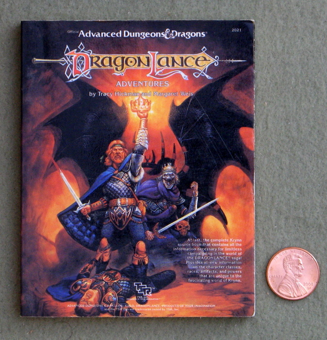 Image for Dragonlance Adventures (Miniature AD&D Collector's Edition)