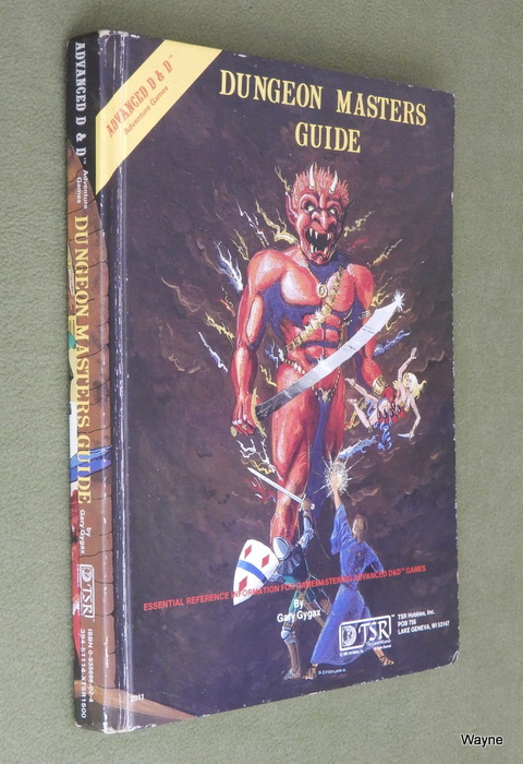 Image for Dungeon Masters Guide (Advanced Dungeons & Dragons, 1st Edition)