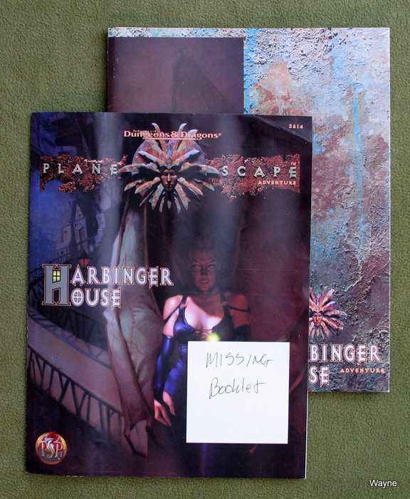 Image for Harbinger House (Planescape) - MISSING BOOKLET