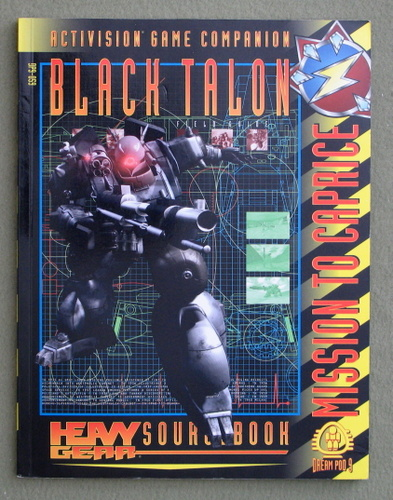 Image for Black Talon (Heavy Gear Activision Game Companion: Mission to Caprice)