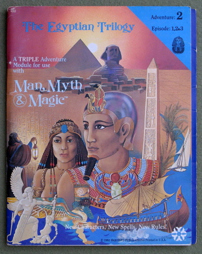 Image for The Egyptian Trilogy (Man, Myth & Magic RPG)