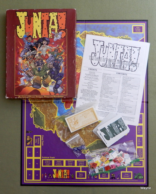Image for Junta: The Game of Power, Intrigue, Money and Revolution - PLAY SET