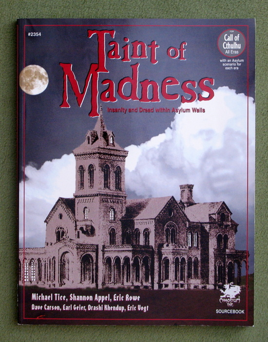 Image for Taint of Madness: Insanity and Dread Within Asylum Walls (Call of Cthulhu)