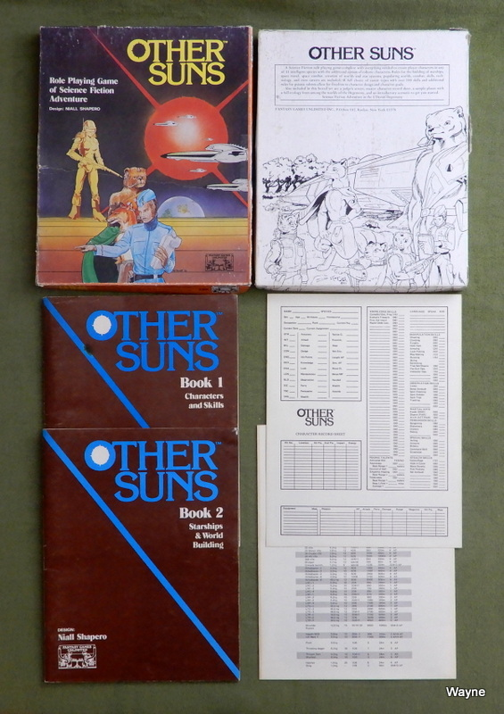 Image for Other Suns: Role Playing Game of Science Fiction Adventure - PLAY SET