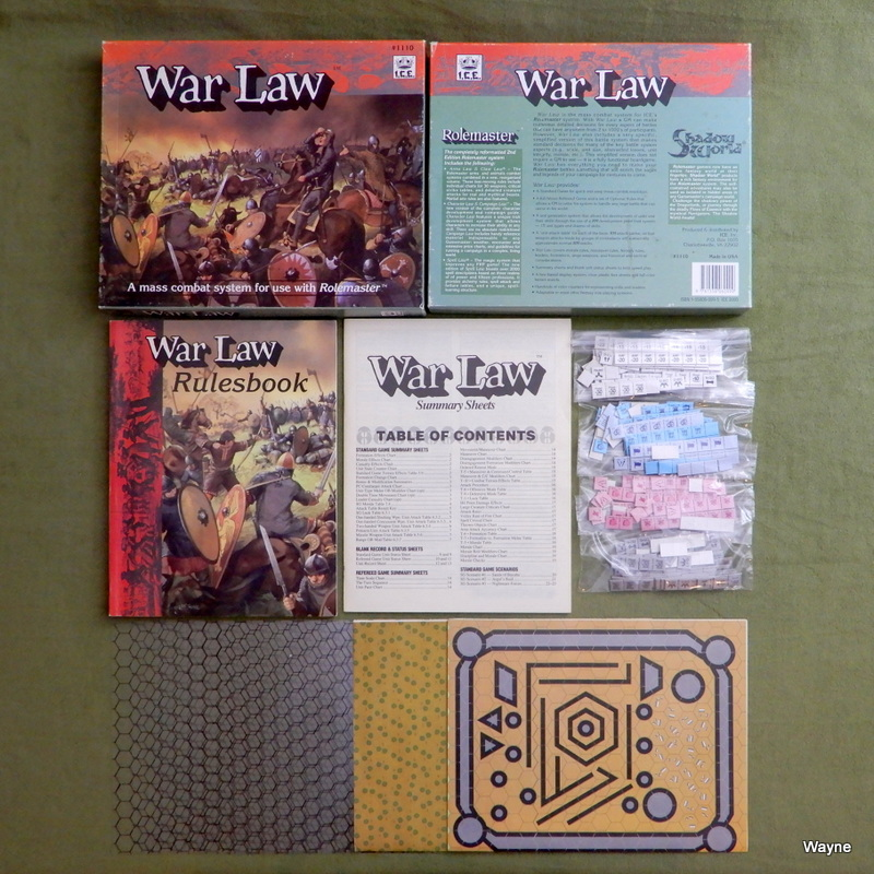 Image for War Law: A Mass Combat System for use with Rolemaster