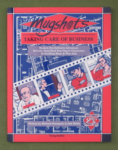 Image for Mugshots Two: Taking Care of Business (Mercenaries, Spies & Private Eyes)