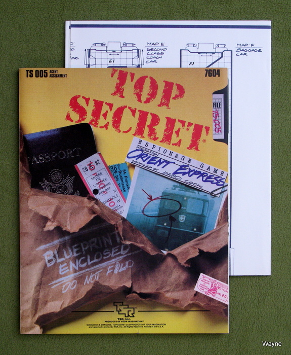 Image for Orient Express (Top Secret RPG module TS005)