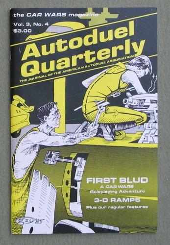 Image for Autoduel Quarterly: Vol. 3, No. 4 (Car Wars)