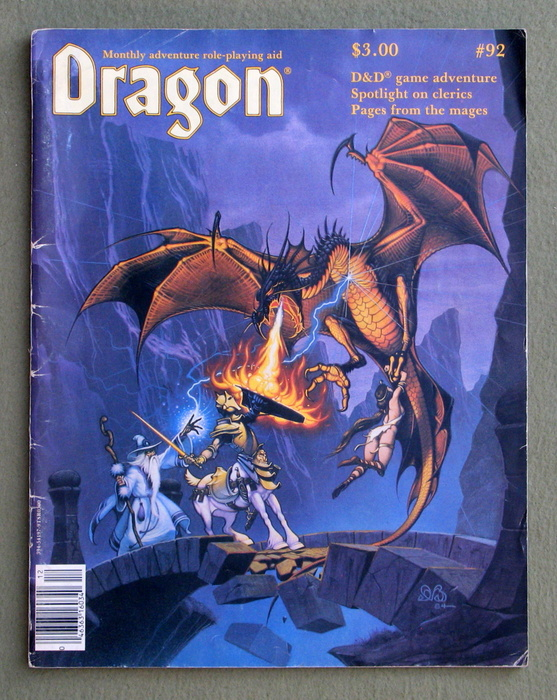 Image for Dragon Magazine, Issue 92