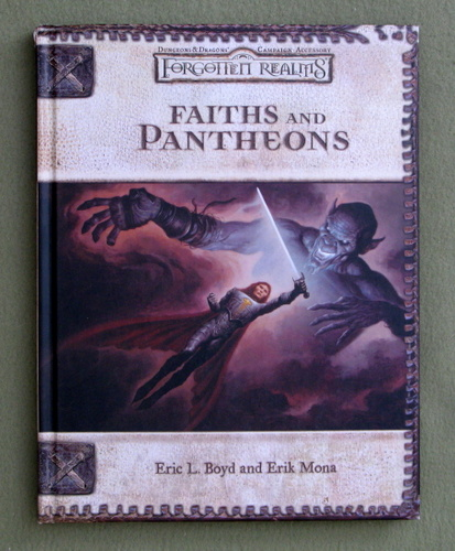 Image for Faiths and Pantheons (Dungeons & Dragons d20 3.0 Fantasy Roleplaying, Forgotten Realms Setting)