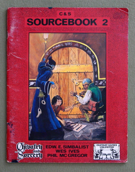 Image for Chivalry & Sorcery Sourcebook 2 (2nd Edition) - PLAY COPY