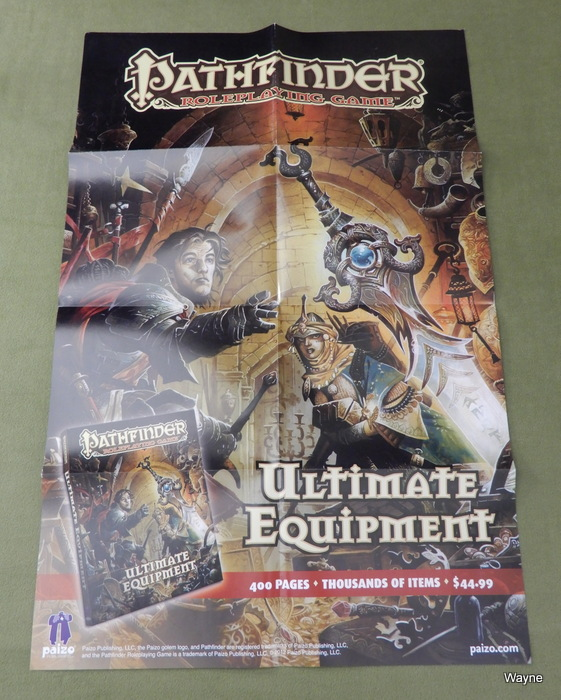 Image for Pathfinder Poster: Ultimate Equipment Guide