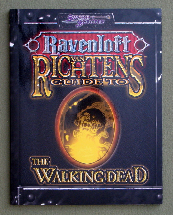 Image for Van Richten's Guide to the Walking Dead (Dungeons & Dragons d20 3.0 Fantasy Roleplaying, Ravenloft Setting)