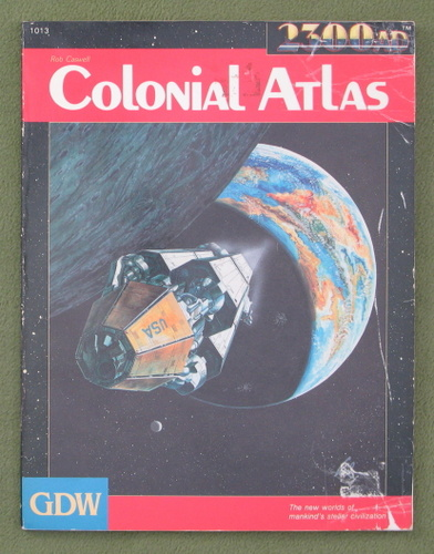 Image for Colonial Atlas (2300AD role playing game) - PLAY COPY