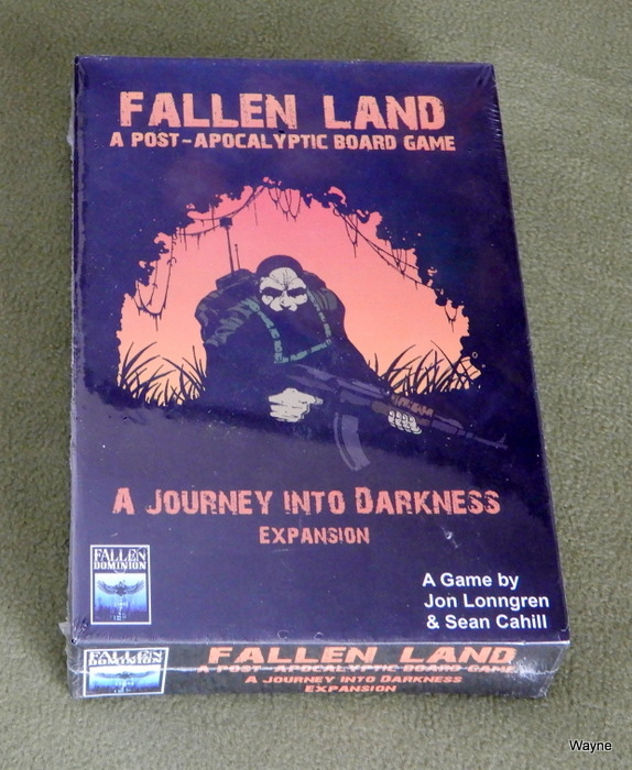 Image for A Journey Into Darkness Expansion (Fallen Land: A Post Apocalyptic Board Game)