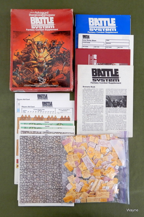 Image for Battlesystem (AD&D) - PLAY SET