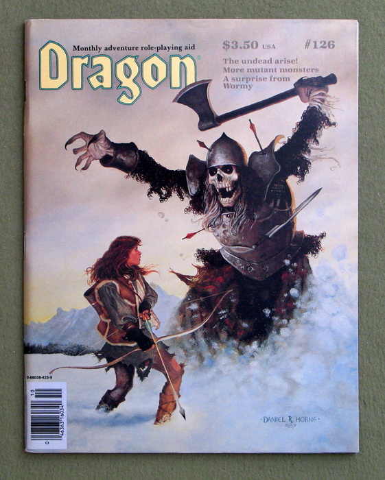 Image for Dragon Magazine, Issue 126