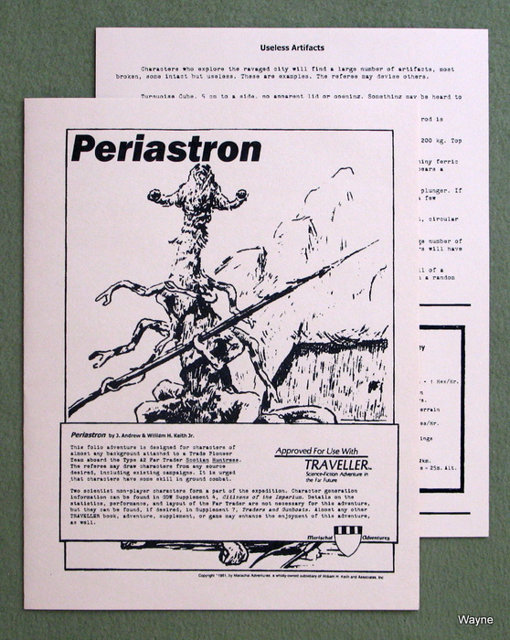 Image for Periastron (Traveller: Marischal Adventures)