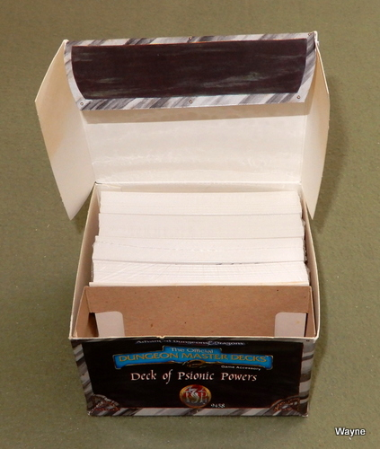 Image for Deck of Psionic Powers (Advanced Dungeons & Dragons, 2nd Edition)