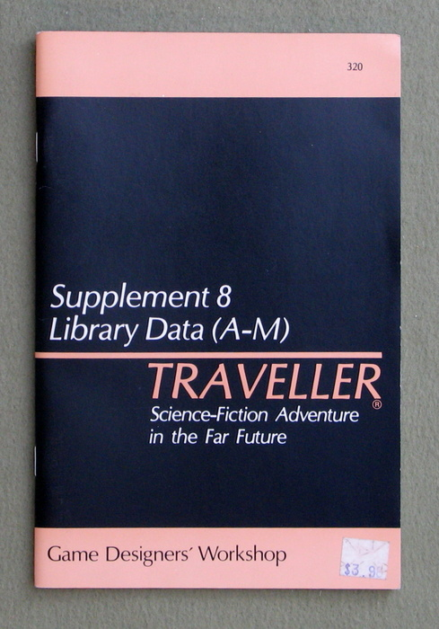 Image for Traveller Supplement 8: Library Data (A-M)