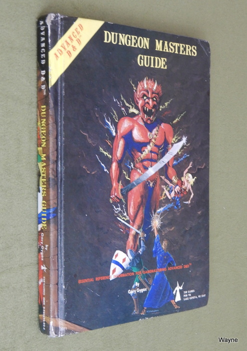 Image for Dungeon Masters Guide (Advanced Dungeons & Dragons, 1st Edition) - PLAY COPY