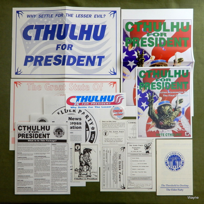 Image for Cthulhu for President: Election Accessories For The Final Campaign (Call of Cthulhu)