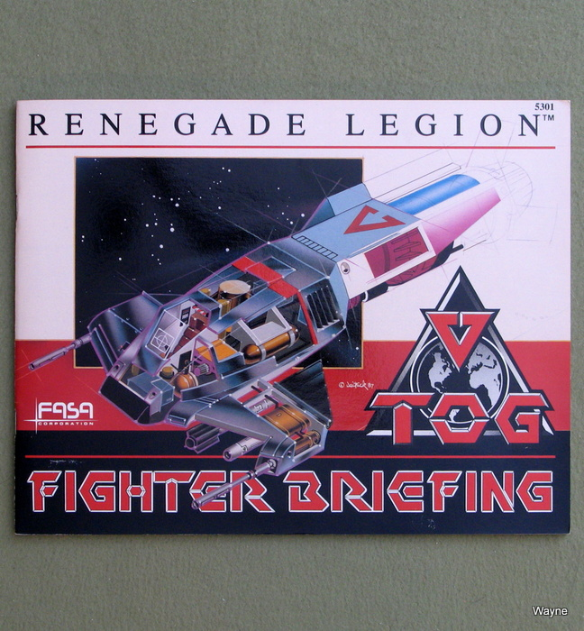 Image for TOG Fighter Briefing (Renegade Legion)
