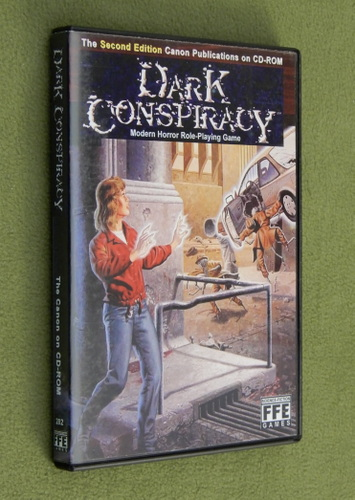 Image for Dark Conspiracy (The Second Edition Canon on CD-ROM)
