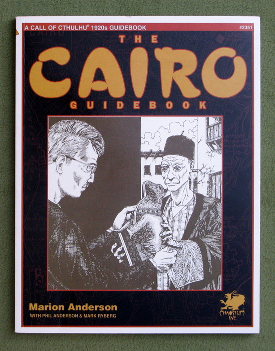 Image for The Cairo Guidebook: A Guide to Cairo in the 1920s (Call of Cthulhu)