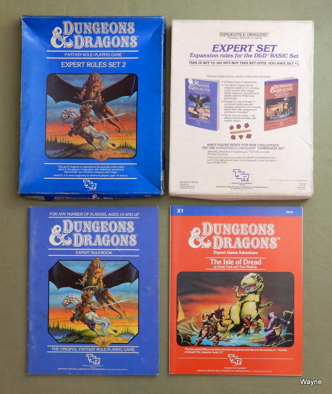 Image for Dungeons and Dragons: Expert Rules, Set Two (Revised) - PLAY SET
