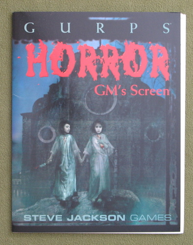 Image for GURPS Horror GM's Screen